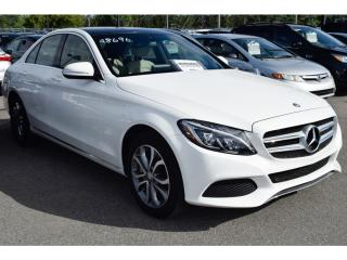 Used 2015 Mercedes-Benz C-Class 4 Matic Cuir Toit for sale in L'ile-perrot, QC