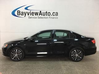 Used 2014 Volkswagen Jetta 2.0L Comfortline - 5 SPD! ALLOYS! SUNROOF! HTD SEATS! BLUETOOTH! CRUISE! for sale in Belleville, ON