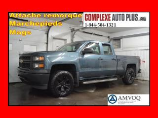 Used 2014 Chevrolet Silverado 1500 Wt 4x4 Double Cab V6 for sale in St-Jérôme, QC