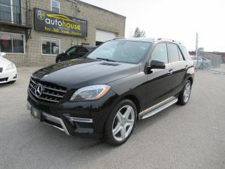 Used 2015 Mercedes-Benz ML-Class BLUETEC,NAVI,LEATHER,PAN SUNROOF,BACK CAMERA for sale in Newmarket, ON