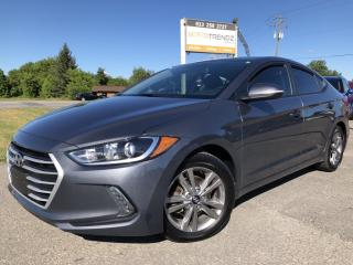Used 2017 Hyundai Elantra GL Heated Steering! Nice with Alloys, Heated Seats, BackupCam, Bluetooth and AUTOSTART! for sale in Kemptville, ON