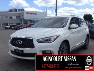 Used 2017 Infiniti QX60 DELUXE TOURING|20 RIMS|NAVI|DUAL SUNROOF for sale in Scarborough, ON