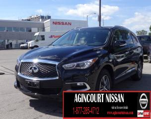 Used 2017 Infiniti QX60 AWD|BACKUP CAMERA|LEATHER|HEATED STEERING WHEEL for sale in Scarborough, ON
