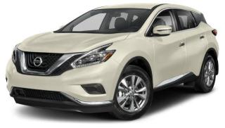 New 2018 Nissan Murano SL AWD CVT for sale in Whitby, ON