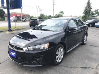 Used 2017 Mitsubishi Lancer ES for sale in Brantford, ON