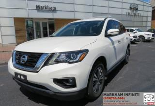 Used 2017 Nissan Pathfinder SL Leather, 360 Camera, Blind Spot, Heated Seats for sale in Unionville, ON