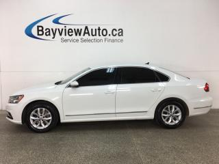 Used 2017 Volkswagen Passat 1.8 TSI Trendline+ - ALLOYS! HTD SEATS! DUAL CLIMATE! REVERSE CAM! for sale in Belleville, ON