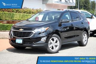 New 2019 Chevrolet Equinox LT Navigation, Sunroof, Heated Seats for sale in Port Coquitlam, BC