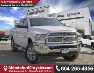 New 2018 RAM 3500 Laramie for sale in Abbotsford, BC