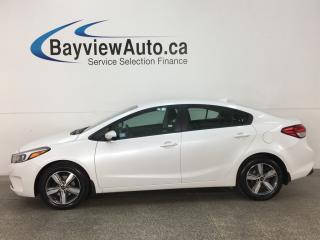 Used 2018 Kia Forte LX - ALLOYS! HTD SEATS! REVERE CAM! BLUETOOTH! for sale in Belleville, ON