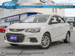 Used 2017 Chevrolet Sonic LT for sale in Brantford, ON