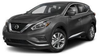 New 2018 Nissan Murano S FWD CVT for sale in Scarborough, ON