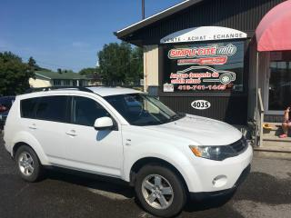 Used 2008 Mitsubishi Outlander AWD 4 portes LS 5 places V6 for sale in Levis, QC