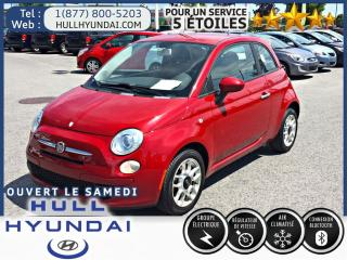 Used 2012 Fiat 500 Pop A/c for sale in Gatineau, QC