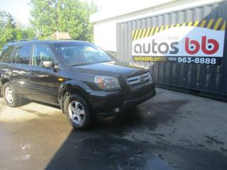 Used 2007 Honda Pilot 4 RM 4 portes EX-L  (CUIR-TOIT-MAGS-7 Pa for sale in Laval, QC