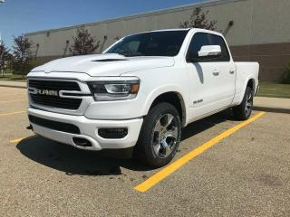 New 2019 RAM 1500 Laramie 4x4 Quad Cab / GPS Navigation / Sunroof / Back Up Camera for sale in Edmonton, AB