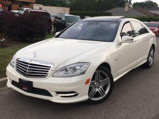 Used 2012 Mercedes-Benz S-Class 550 4MATIC Long Wheel Base for sale in Mississauga, ON