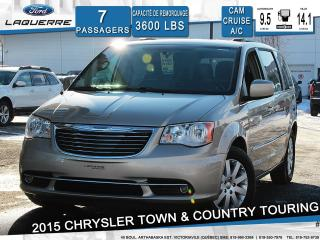 Used 2015 Chrysler Town & Country Touring 7 Places for sale in Victoriaville, QC