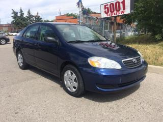Used 2007 Toyota Corolla ONLY96K,P/W,AUTO,SAFETY+3YEARS WARANTY INCLUDED for sale in North York, ON