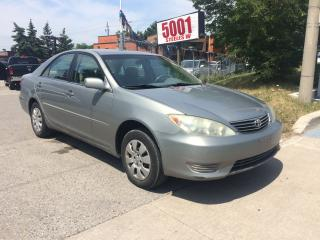 Used 2006 Toyota Camry 4G,AUTO,4DR,SHIPPER'S SPECIAL,253K,$3400 for sale in North York, ON