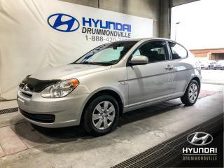 Used 2011 Hyundai Accent LE HATCHBACK + A/C + GROUPE ÉLECTRIQUE + for sale in Drummondville, QC