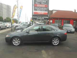 Used 2005 Acura TSX LOADED / CLEAN / AC / LEATHER / HEATED SEATS / for sale in Scarborough, ON