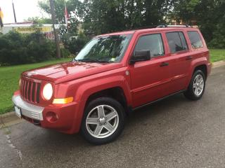 Used 2007 Jeep Patriot Limited,4x4 leather,sunroof for sale in Mississauga, ON