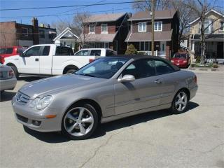 Used 2007 Mercedes-Benz CLK 3.5L for sale in York, ON