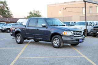 Used 2002 Ford F-150 4.6L Crew Cab XLT for sale in Brampton, ON