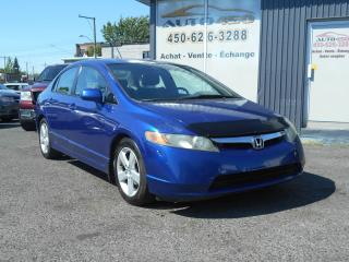 Used 2006 Honda Civic ***LX,MAGS,AIR CLIMATISE*** for sale in Longueuil, QC