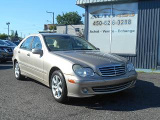 Used 2005 Mercedes-Benz C230 ***KOMPRESSOR,CUIR,MAGS*** for sale in Longueuil, QC