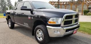 Used 2012 RAM 2500 SLT Crew Cab SWB 4WD for sale in West Kelowna, BC