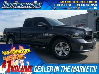 Used 2016 RAM 1500 SPORT/4X4/LEATHER/RMT STRT/NAV/HOOD & MORE!!! for sale in Milton, ON