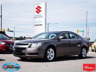Used 2011 Chevrolet Malibu LS ~Only 55,000 KM ~Power Seat for sale in Barrie, ON