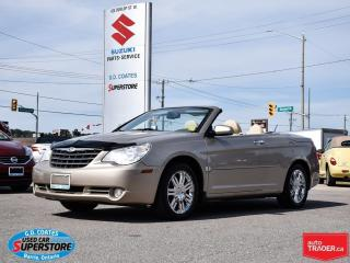 Used 2008 Chrysler Sebring Limited Hard Top Convertible ~Nav ~Heated Leather for sale in Barrie, ON