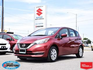 Used 2017 Nissan Versa Note SV ~5.0 Touchscreen ~Backup Cam ~Heated Seats for sale in Barrie, ON