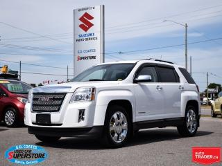 Used 2012 GMC Terrain SLT-2 AWD ~V6 ~Heated Leather Seats ~Backup Camera for sale in Barrie, ON