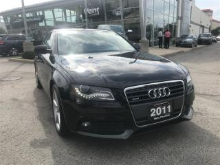 Used 2011 Audi A4 2.0T PREMIUM for sale in Oakville, ON