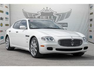 Used 2008 Maserati Quattroporte PININFARINA W/ AUTOMATIC PADDLE SHIFTERS SUNROOF for sale in North York, ON