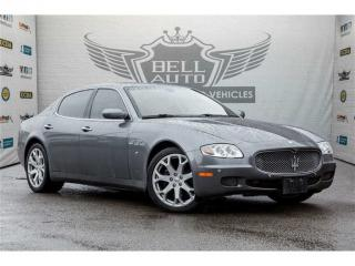 Used 2008 Maserati Quattroporte NAVIGATION SUNROOF LEATHER PARKING SENORS for sale in North York, ON