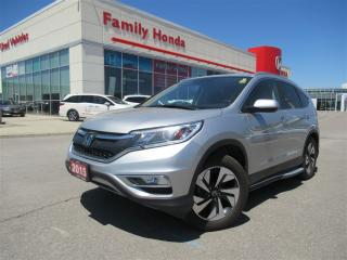 Used 2015 Honda CR-V Touring, FREE EXTENDED WARRANTY!!! for sale in Brampton, ON