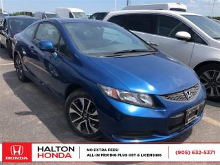 Used 2013 Honda Civic Coupe LX for sale in Burlington, ON