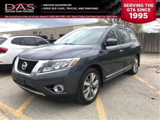 Used 2014 Nissan Pathfinder HYBRID/PLATINUM/NAVIGATION/PANORAMIC ROOF for sale in North York, ON