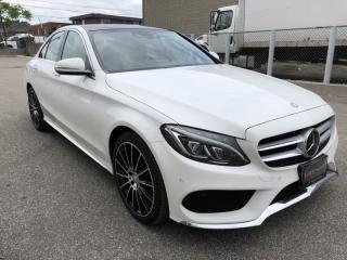Used 2015 Mercedes-Benz C-Class C400 I NAVIGATION I BLIND SPOT I 4MATIC for sale in North York, ON