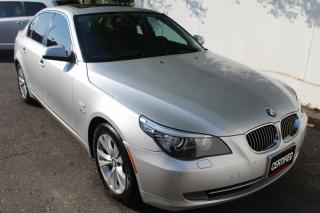 Used 2010 BMW 5 Series 535i xDrive Navigation Back camera Sunroof for sale in Mississauga, ON
