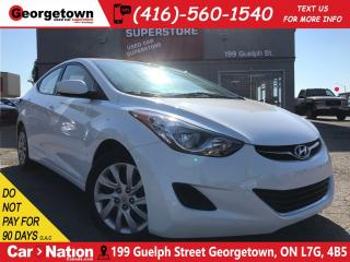 Used 2013 Hyundai Elantra GL | CLEAN CARPROOF | A/C | HTD SEATS | BLUETOOTH for sale in Georgetown, ON