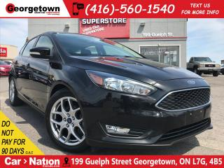 Used 2015 Ford Focus SE | BLUETOOTH | BACK UP CAM | ALLOYS | for sale in Georgetown, ON