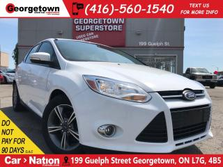 Used 2014 Ford Focus BLUETOOTH | ALLOY WHEELS | FOG LIGHTS | for sale in Georgetown, ON