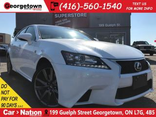 Used 2014 Lexus GS 350 F Sport | CLEAN CARPROOF | SUNROOF | NAVI for sale in Georgetown, ON