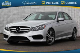 Used 2014 Mercedes-Benz E-Class E 350 AWD for sale in Ste-Rose, QC